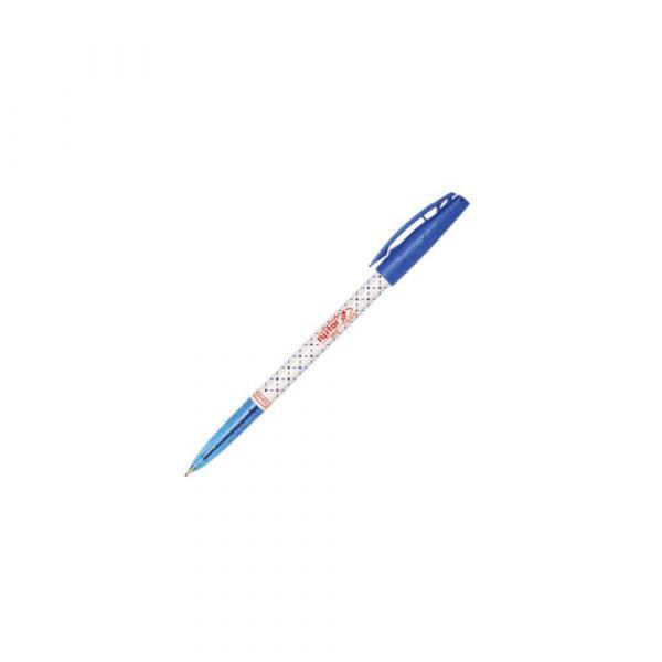 artykuły piśmiennicze 1 alibiuro.pl Długopis kropka Rystor niebieski 43