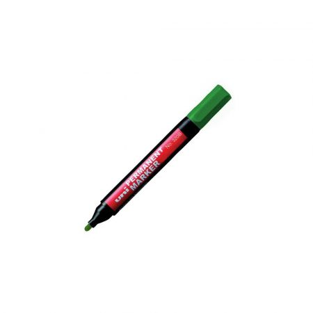 artykuły piśmiennicze 1 alibiuro.pl Marker permanentny okrągła końcówka NO 320F UNI zielony 12