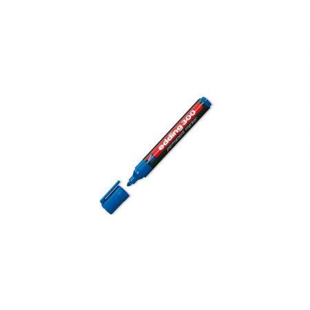 artykuły piśmiennicze 1 alibiuro.pl Marker permanentny okrągły 1 5 3mm 300 Edding niebieski 59