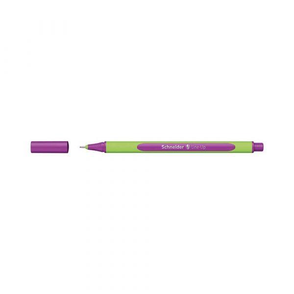 artykuły piśmiennicze 4 alibiuro.pl Cienkopis SCHNEIDER Line Up 0 4mm purpurowy 40