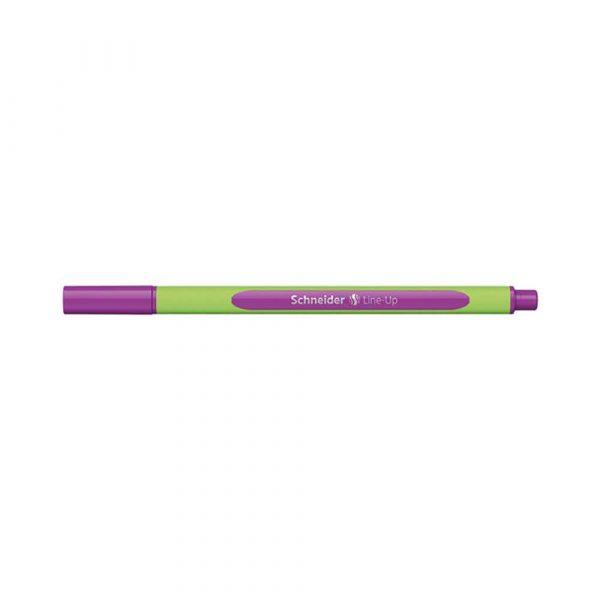 artykuły piśmiennicze 4 alibiuro.pl Cienkopis SCHNEIDER Line Up 0 4mm purpurowy 52