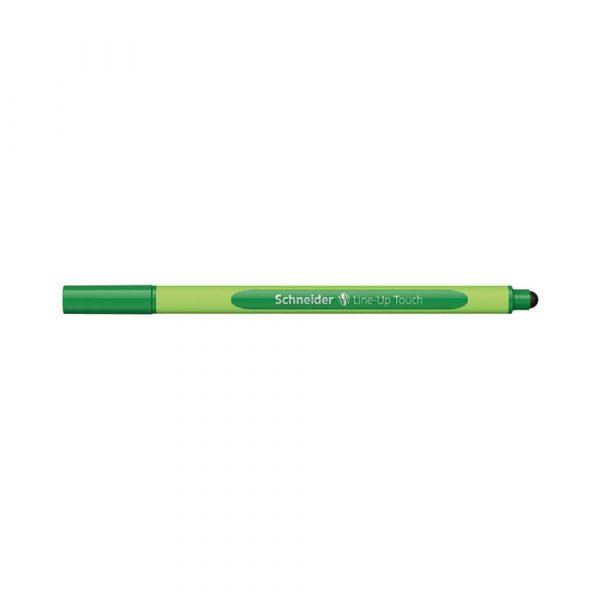 artykuły piśmiennicze 4 alibiuro.pl Cienkopis SCHNEIDER Line Up Touch 0 4mm zielony 99