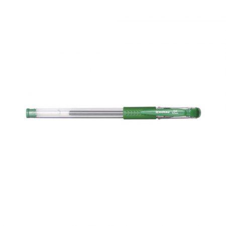 artykuły piśmiennicze 4 alibiuro.pl Długopis żelowy DONAU z wodoodpornym tuszem 0 5mm zielony 51