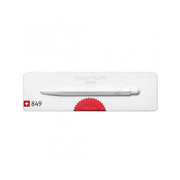 artykuły piśmiennicze 4 alibiuro.pl Długopis CARAN D Inch ACHE 849 Chevron M w pudełku czerwony 41