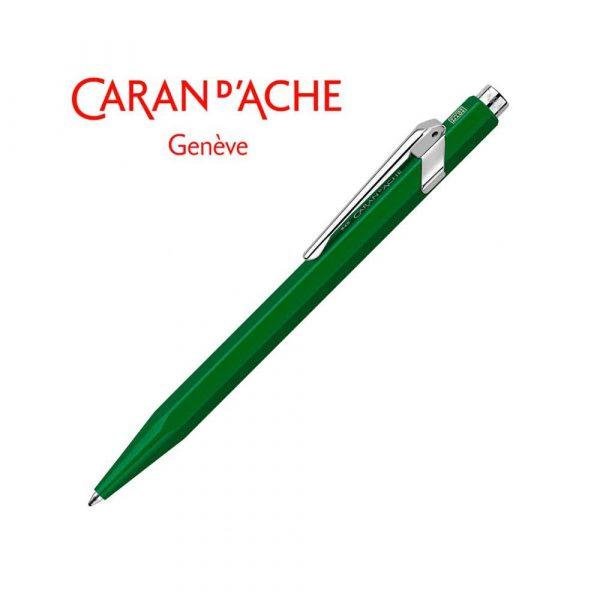 artykuły piśmiennicze 4 alibiuro.pl Długopis CARAN D Inch ACHE 849 Classic Line M zielony 80