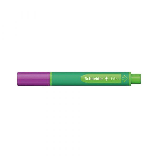artykuły piśmiennicze 4 alibiuro.pl Flamaster SCHNEIDER Link It 1 0mm purpurowy 67