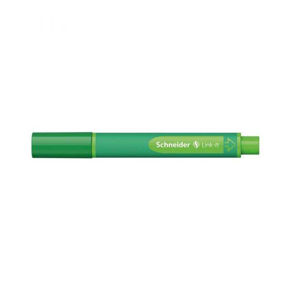 artykuły piśmiennicze 4 alibiuro.pl Flamaster SCHNEIDER Link It 1 0mm zielony 13