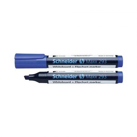 artykuły piśmiennicze 4 alibiuro.pl Marker do tablic SCHNEIDER Maxx 293 ścięty 2 5mm niebieski 10