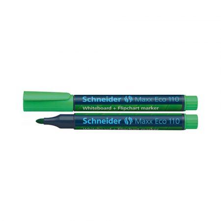 artykuły piśmiennicze 4 alibiuro.pl Marker do tablic SCHNEIDER Maxx Eco 110 okrągły 1 3mm zielony 49