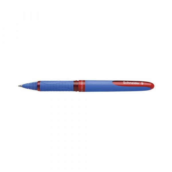 artykuły piśmiennicze 4 alibiuro.pl Pióro kulkowe SCHNEIDER One Hybrid C 0 5 mm czerwony 58