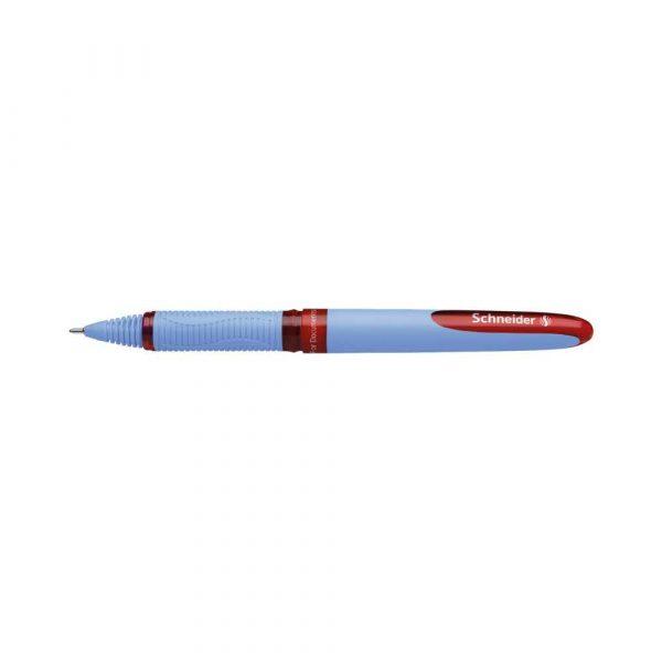 artykuły piśmiennicze 4 alibiuro.pl Pióro kulkowe SCHNEIDER One Hybrid N 0 3 mm czerwony 64