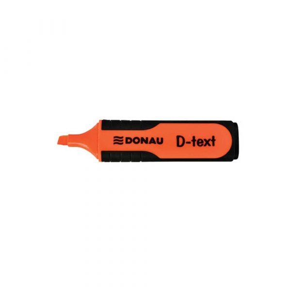 artykuły piśmiennicze 4 alibiuro.pl Zakreślacz fluorescencyjny DONAU D Text 1 5mm linia pomarańczowy 33