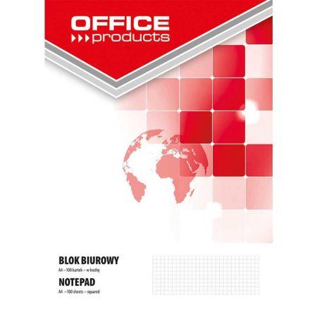 artykuły plastyczne 4 alibiuro.pl Blok biurowy OFFICE PRODUCTS A4 w kratkę 100 kart. 70gsm 60
