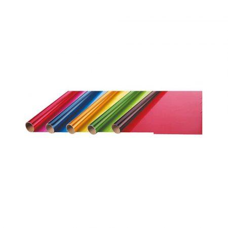 artykuły plastyczne 4 alibiuro.pl Folia prezentowa FOLIA PAPER 70x200cm w rolce transparentne kolory 53