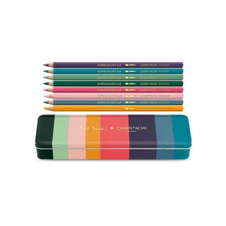 artykuły plastyczne 4 alibiuro.pl Kredki CARAN D Inch ACHE Supracolor Soft Paul Smith 3 sześciokątne 8szt. mix kolorów 5