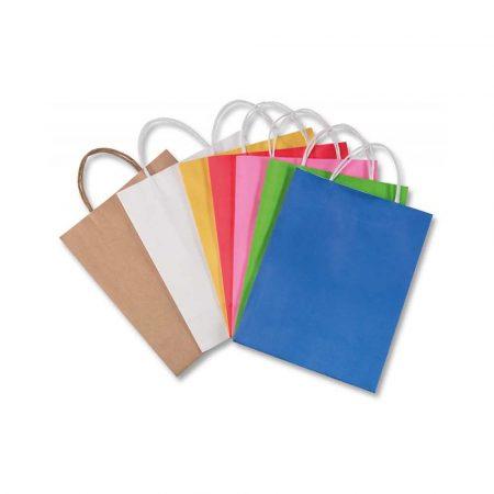 artykuły plastyczne 4 alibiuro.pl Torebka na prezenty FOLIA PAPER papierowa 12x5 5x15cm gr. 110g m2 mix kolorów 31