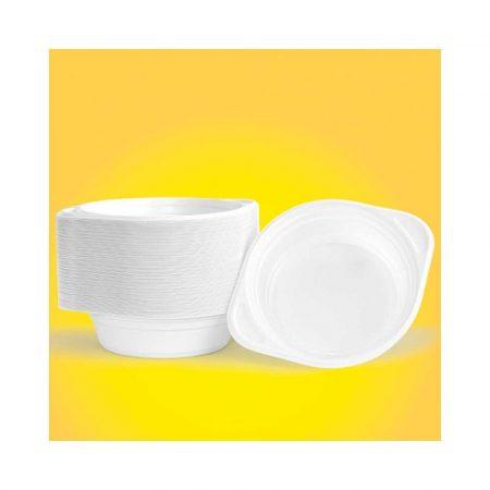 artykuły spożywcze 4 alibiuro.pl Flaczarka plastikowa OFFICE PRODUCTS 500ml śr. 16cm 100 szt. biała 20