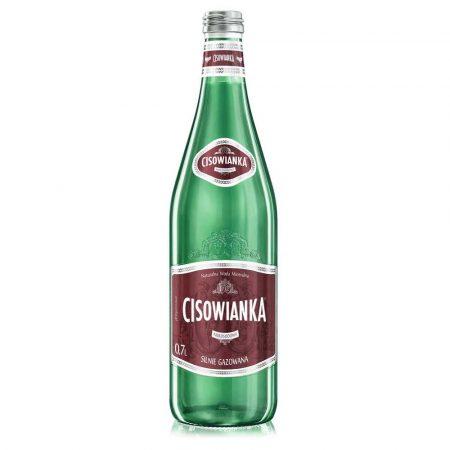 artykuły spożywcze 4 alibiuro.pl Woda CISOWIANKA silnie gazowana butelka szklana 0 7l 43