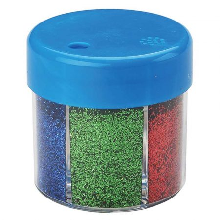 artykuły szkolne 4 alibiuro.pl Brokat w pudełku KEYROAD 60g pakowany na displayu mix kolorów 50