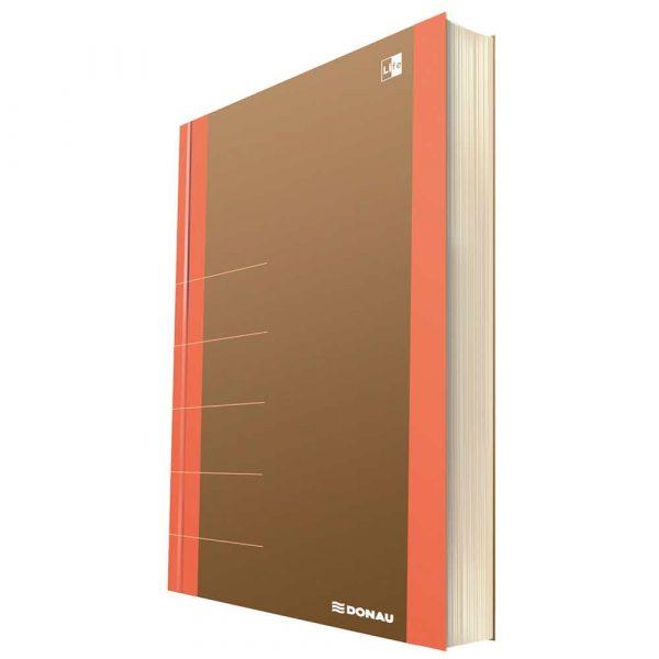 artykuły szkolne 4 alibiuro.pl Notatnik DONAU Life organizer 165x230mm 80 kart. pomarańczowy 38