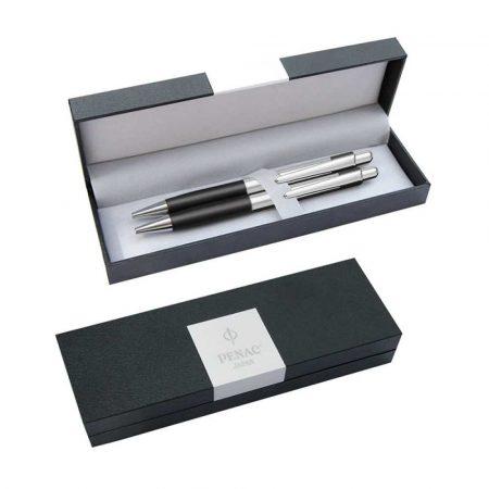 artykuły szkolne 4 alibiuro.pl Zestaw długopis ołówek PENAC Pepe 0 7mm czarny 66