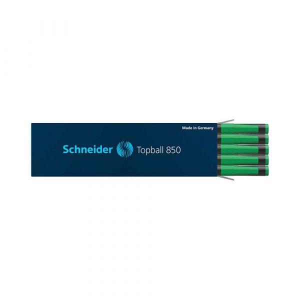atrament 4 alibiuro.pl Wkład do pióra kulkowego SCHNEIDER Topball 850 0 5 mm zielony 41
