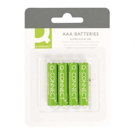 baterie 4 alibiuro.pl Baterie super alkaliczne Q CONNECT AAA LR03 1 5V 4szt. 19