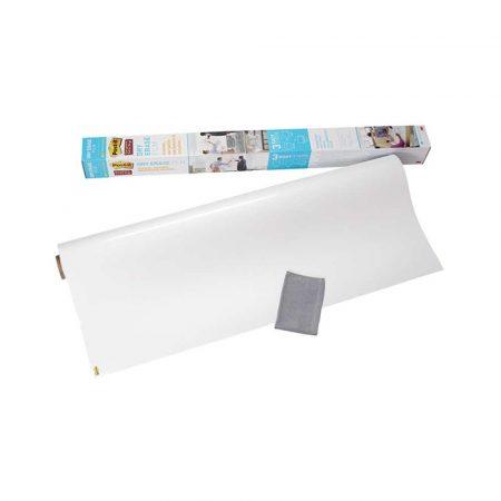 blok do flipchartów 4 alibiuro.pl Suchościeralna folia w rolce POST IT Dry Erase DEF4X3 EU 91x122cm biała 93