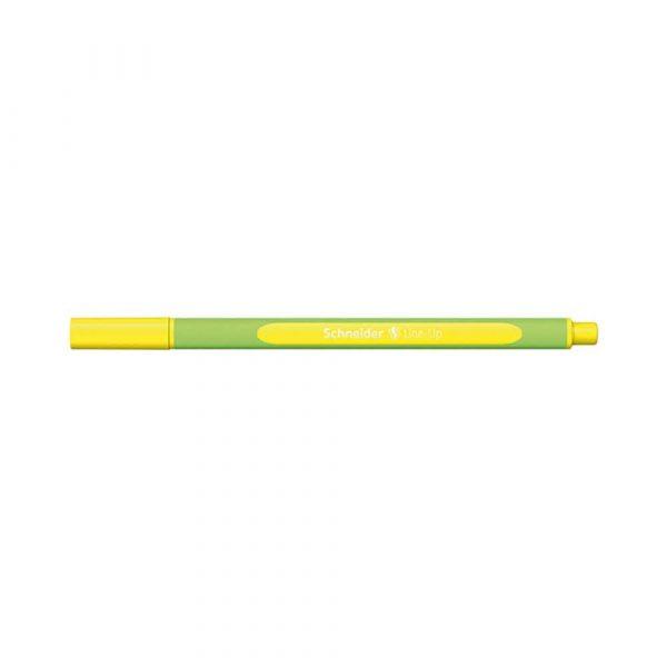 cienkopis 4 alibiuro.pl Cienkopis SCHNEIDER Line Up 0 4mm żółty neonowy 2