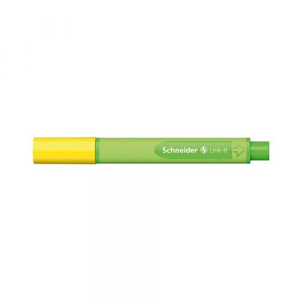 cienkopisy 4 alibiuro.pl Cienkopis SCHNEIDER Link It 0 4mm żółty 93