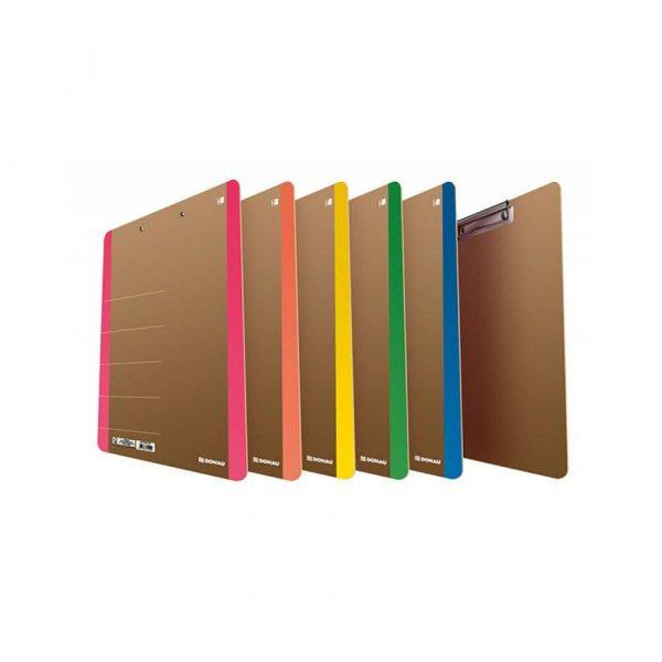 clipboard 4 alibiuro.pl Clipboard DONAU Life karton A4 z klipsem różowy 60
