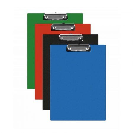 clipboardy 4 alibiuro.pl Clipboard Q CONNECT deska PVC A5 mix kolorów 16