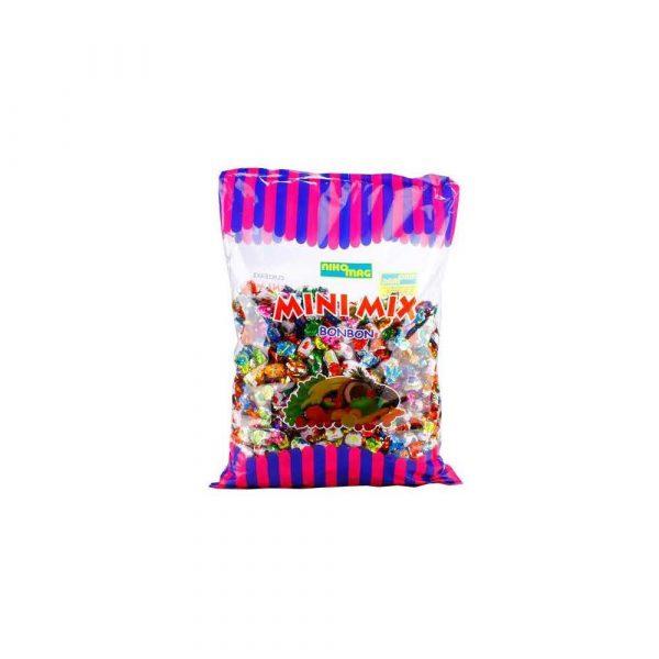 cukierki 1 alibiuro.pl Cukierki owocowe Nikomag Karmelki Mini Mix 1 kg 96