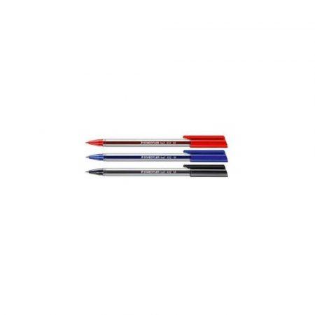długopis żelowy 1 alibiuro.pl Długopis Ball 432 F Staedtler czarny 4