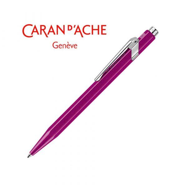 długopis żelowy 4 alibiuro.pl Długopis CARAN D Inch ACHE 849 Line Metal X M fioletowy 66
