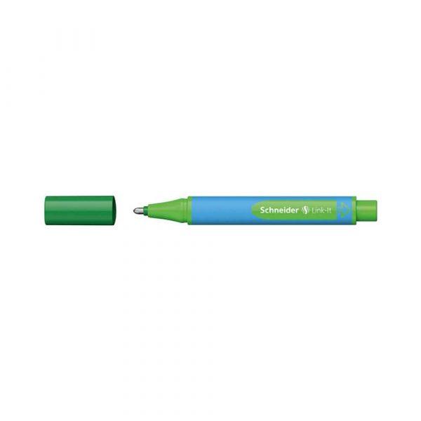 długopis żelowy 4 alibiuro.pl Długopis SCHNEIDER Link It Slider XB zielony 28
