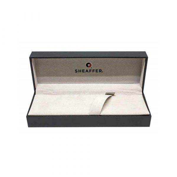długopis żelowy 4 alibiuro.pl Długopis automatyczny SHEAFFER 100 9306 szczotkowany chrom 24