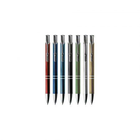 długopisy żelowe 1 alibiuro.pl Długopis BENETA A02.2238 A131 srebrny 20