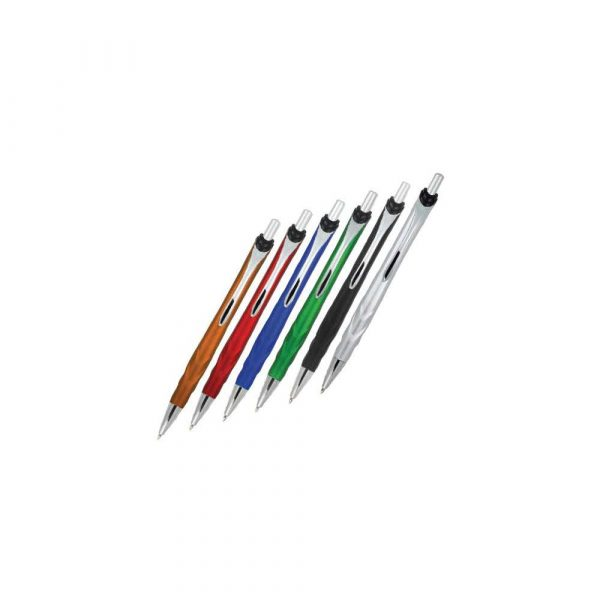 długopisy żelowe 1 alibiuro.pl Długopis z chowanym wkładem A01.2896 ANCHOR MPM srebrny 60