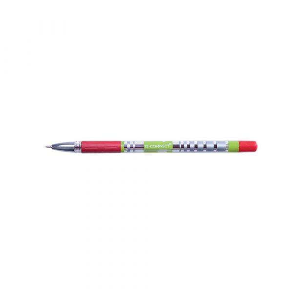 długopisy żelowe 4 alibiuro.pl Długopis żelowo fluidowy Q CONNECT 0 5mm czerwony 11