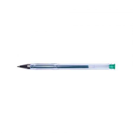 długopisy żelowe 4 alibiuro.pl Długopis żelowy OFFICE PRODUCTS Classic 0 5mm zielony 94
