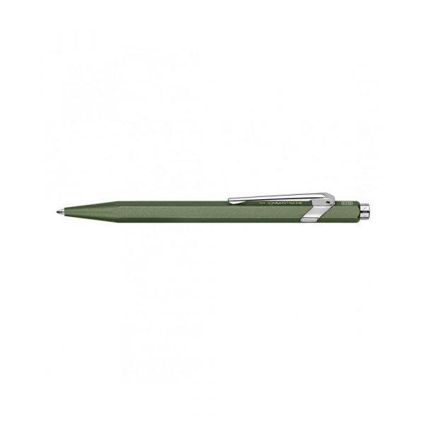 długopisy żelowe 4 alibiuro.pl Długopis CARAN D Inch ACHE 849 Nespresso Green India M w pudełku zielony 6