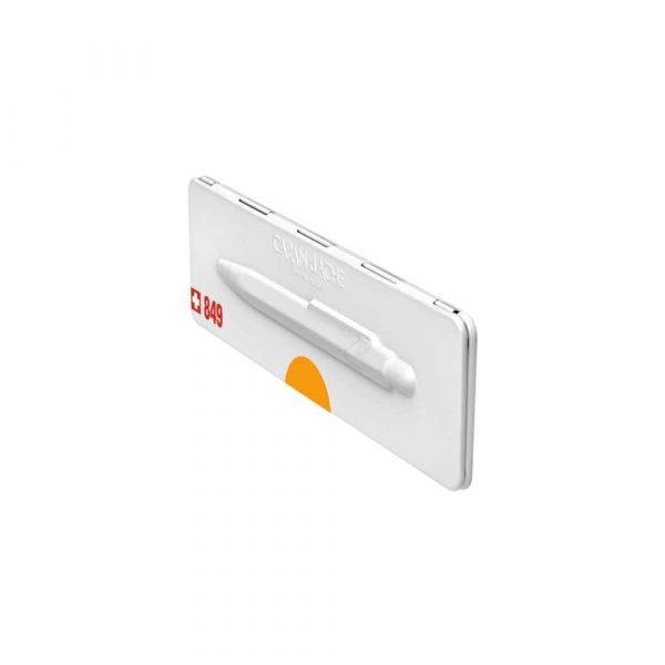 długopisy żelowe 4 alibiuro.pl Długopis CARAN D Inch ACHE 849 Pop Line Fluo M w pudełku pomarańczowy 9