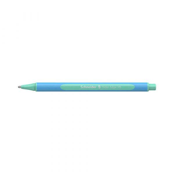 długopisy żelowe 4 alibiuro.pl Długopis SCHNEIDER Slider Edge Pastel XB miętowy 71