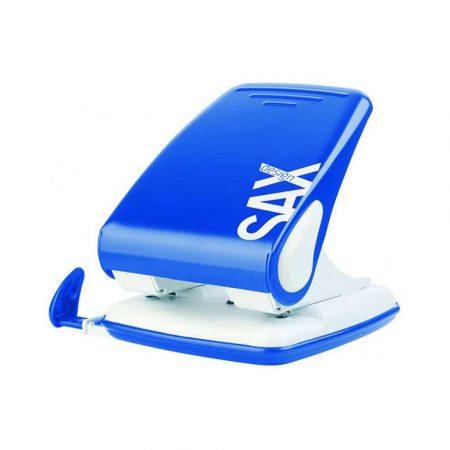 dziurkacze 4 alibiuro.pl Dziurkacz SAXDesign 518 paperbox dziurkuje do 40 kartek niebieski 1