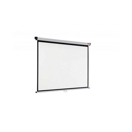 ekran przenośny 4 alibiuro.pl Ekran projekcyjny NOBO ścienny 4 3 2000x1513mm biały 57