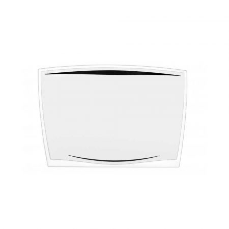 ergonomia 4 alibiuro.pl Podkładka na biurko CEP Ice 65 6x44 8cm transparentna czarna 16
