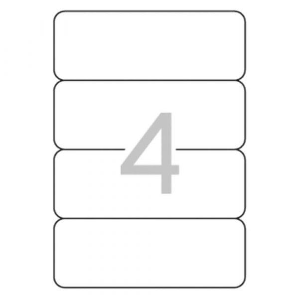 etykiety na segregatory 4 alibiuro.pl Etykiety samoprzylepne do segregatora APLI 61x190mm 100szt. białe 24