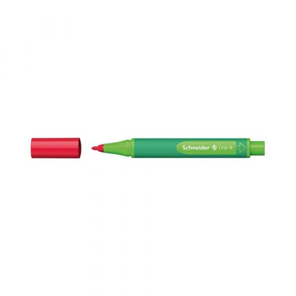 flamastry biurowe 4 alibiuro.pl Flamaster SCHNEIDER Link It 1 0mm czerwony 94