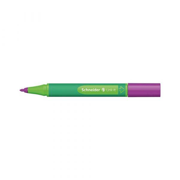 flamastry biurowe 4 alibiuro.pl Flamaster SCHNEIDER Link It 1 0mm purpurowy 83